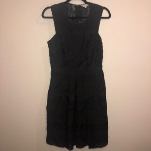 Rebecca Taylor Lace High Neck Dress